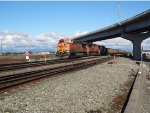BNSF Coal train W/B into Roberts Bank