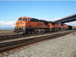 BNSF Coal train, W/B into Roberts Bank