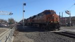 BNSF 7347 Leads an Intermodal Train