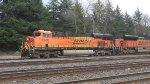 BNSF 6268 Leads a Coal Train