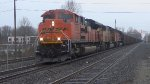 BNSF 9322 Leads a Coal Train