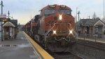 BNSF 7094 Leads a Manifest