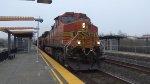 BNSF 5295 Leads a Crude Oil Train