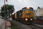 F774 heads north early in the AM