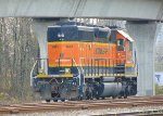 BNSF 1641, remote control switcher facing S/B in the CN/BNSF New Westminster Yard