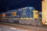 CSX SD40-2 #8350 on Q410