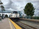 Metrolink MPI MPXpress #889 Pulls into Irvine