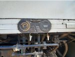 Metrolink MPI MPXpress #889 Builder's Plate