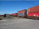 CP intermodal, W/B at Control Point Gulf, heading to Robert's Bank Terminal.