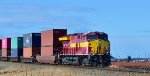 CN 3069, Wisconsin Central Heritage unit, E/B approaching Mud Bay West