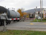 Chasing the tank cars