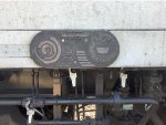Metrolink MPI MPXpress #892 Builders Plate