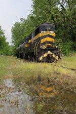 9434 waits for its return trip to Dyersburg tomorrow