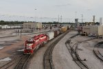 Switching moves along at a steady pace at TRRA's Madison Yard