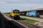 Completing its full circle of the facility, 1296 rolls past the 2758