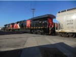 CN 3876 and CN 2804