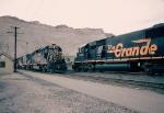 DRGW trains meet