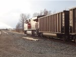 BNSF trailing DPU, empty coal train