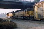 Union Pacific 3402 and 3808
