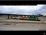 Two BNSF Locomotives at Kansas City