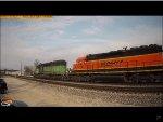 BNSF SD40-2 #1775 Passes Coal City