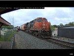 CN ES44AC #2811 Passes Waupaca