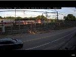 MBTA F40PH-2C #1030 at Davisville