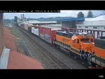 BNSF GP38-2 #2263 Passes Chehalis