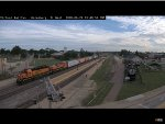Another Long Nose SD40-2 at Galesburg