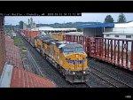 Union Pacific AC4460CW #7107 Passes Chehalis