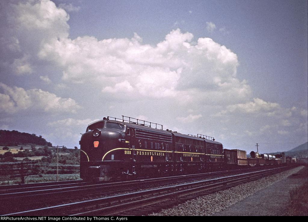 PRR 9558, EF-15, 1954