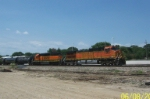 BNSF 5157 heads east at Toluca, Ill.
