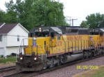 Closeup of UP 3078. Love those EMD's.