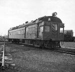 """PRR 4666, """"Doodlebug,"""" 1955"""