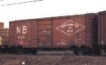 Northhampton & Bath boxcar #504