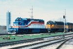 SD40-2s #156 + #166 leading e/b CMSTP&P train