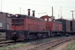 C&NW (CGW) TR2B #58B + TR2A #58A