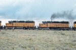 2nd & 3rd units on n/b UP train: SD40s #3047 + #3040