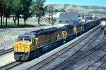 e/b UP train led by DDA40X #6911 + SD40-2s #3146 + #3175