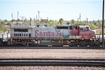 Rare Ex Santa Fe Dash 8-41CW 948 in Barstow Yard