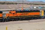 1 of the 5 Ex Santa Fe Bicentennial Units Working Barstow Yard