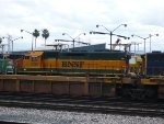 BNSF 6367 Resting in Commerce