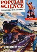 """""""Wreckproofing The Railroads,"""" Front Cover, 1951"""