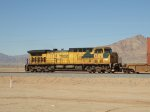 A Rare C&NW OLS AC4400 Races along the Desert Floor