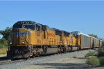 A SD70M Pair race west towards Mira Loma