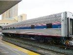 An Amtrak Heritage Sleeper at LA Union Station