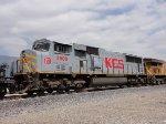 KCS Gray Ghost SD70MAC heads South