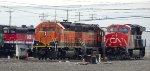 BNSF 1685-BNSF 1872-CN 3254-CBRW 608
