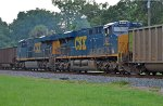 CSX 927 and 896 as mid train helpers