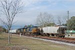 CSX mixed freight heading east